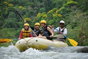 rafting near Manuel Antonio