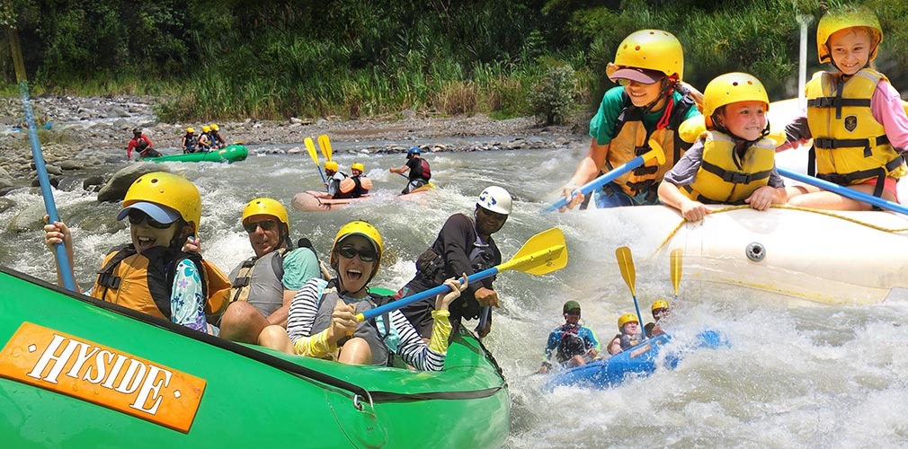 Best rafting in Quepos