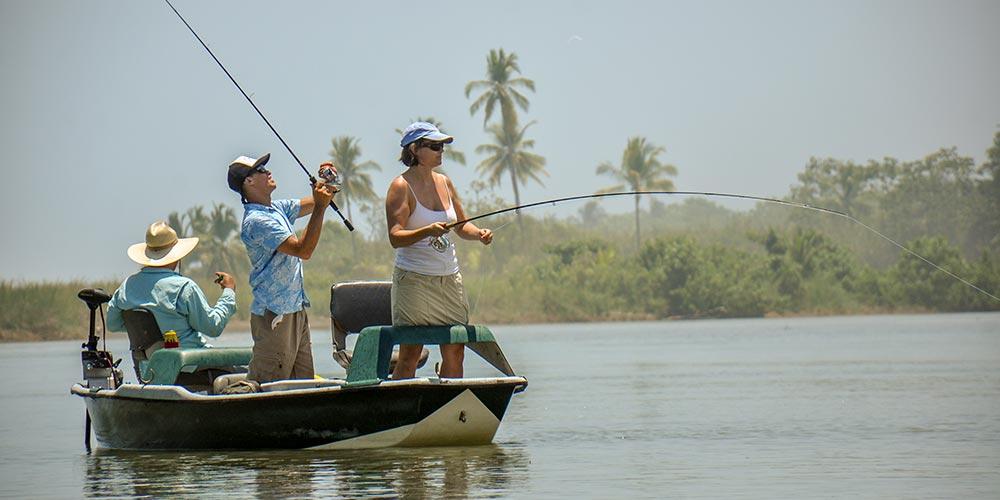 Fishing the Portalon River