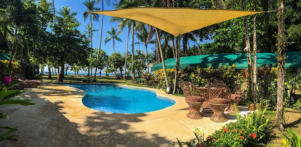 pool with shade net Rafiki