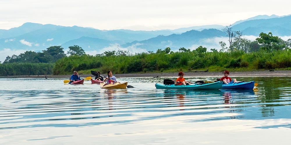 Rafiki Kayak tour