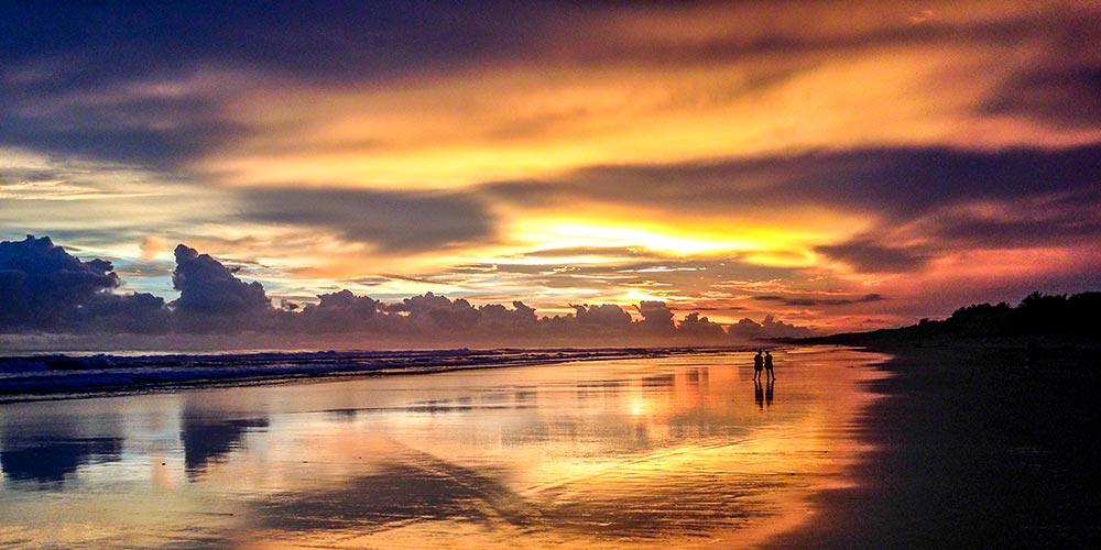 Sunset on Matapalo Beach